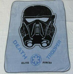 Star-Wars-Rogue-One-Death-Trooper-Elite-Forces-Super-Soft-Plush-Throw-50-034-x-60-034