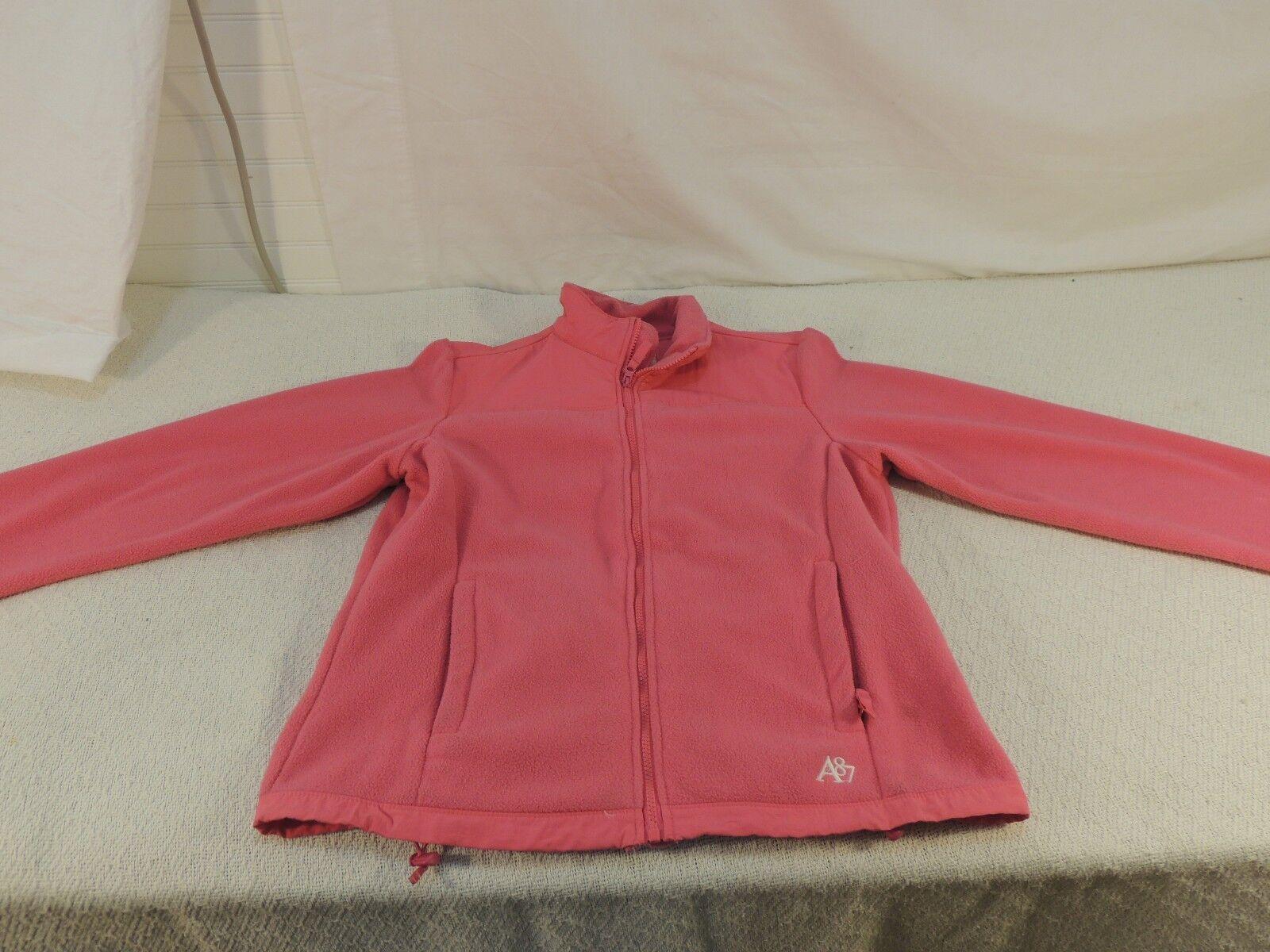 Aeropostale Fleece-Winterjacke RN 126671 Damen Pink Polyester 50605