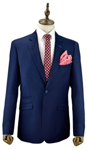 Mens King Sizes Suits Navy Blue Big Sizes Suits 48 To 62 Mix /& Match Sizes