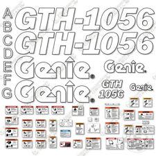 Genie Gth 1056 Decal Kit Telescopic Forklift 7 Year 3m Vinyl