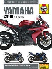 HAYNES SERVICE REPAIR MANUAL YAMAHA YZF-R1 2004 2005 2006, YZF-R1 SP 2006