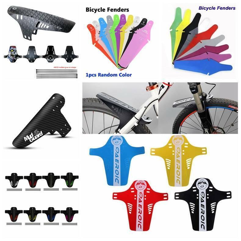 "ROCKBROS 26/"" Bike Bicycle MTB Fender Mudguard Front /& Rear Quick Release 4 Color"