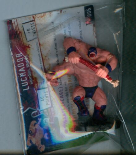 Horrorclix Nightmares luchador #006 with card Wizkids