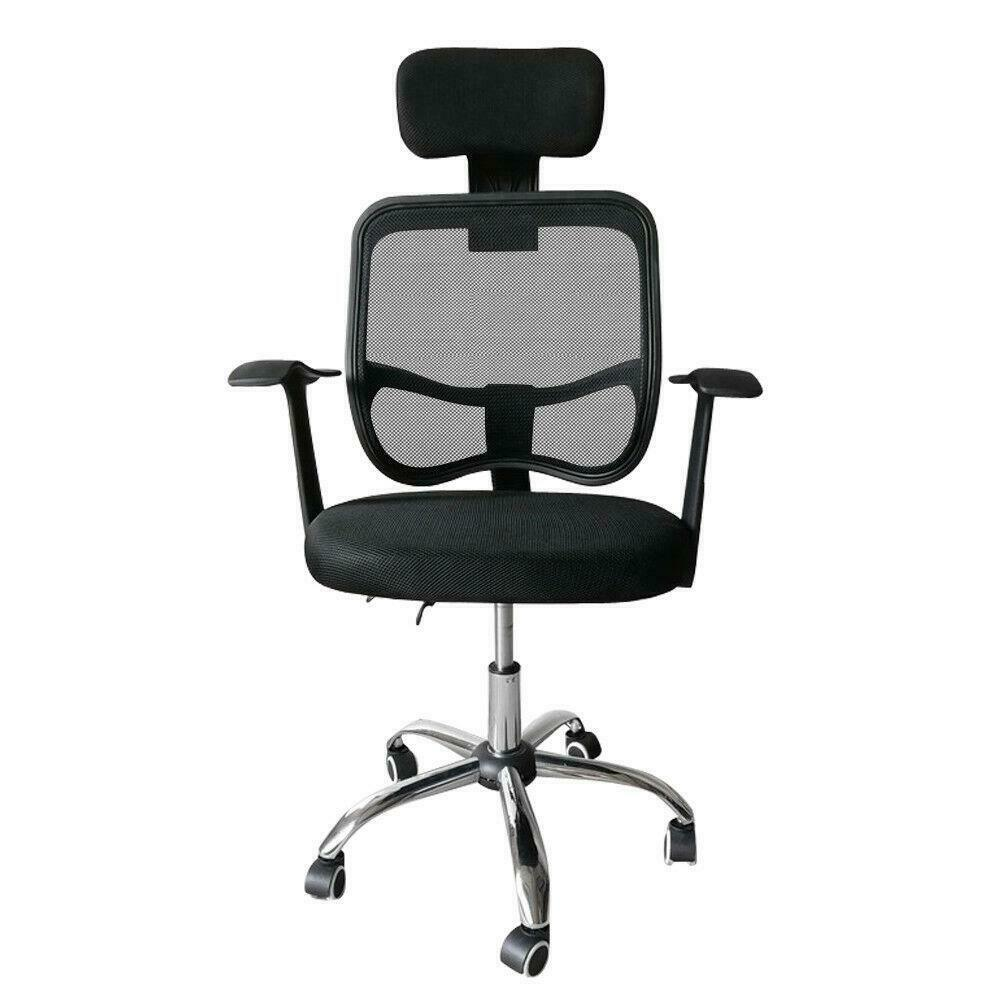 Viva Office High Back Executive Mesh Chair With Adjustable Headrest For Sale Online Ebay