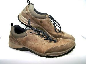 Ecco-Receptor-Tech-Mens-Casual-Sport-Shoes-Size-13-med-Euro-47-Brown-Leather