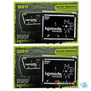 Komodo Thermostat Marche / Arrêt 100w 300w