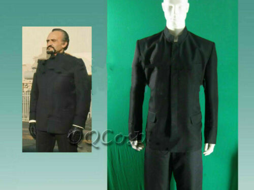 Doctor Who The Master Roger Delgado Cosplay Costume#