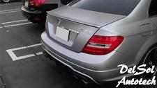 2008-14 Mercedes-Benz W204 W 204 C350 C-350 C63 4-dr AMG type Trunk Spoiler lip