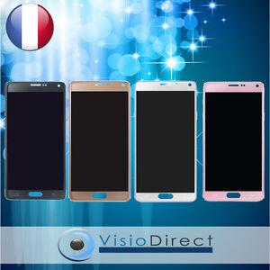 Ecran-complet-pour-Samsung-Galaxy-Note-4-N9100-SM-N910F-vitre-tactile-ecran-LCD