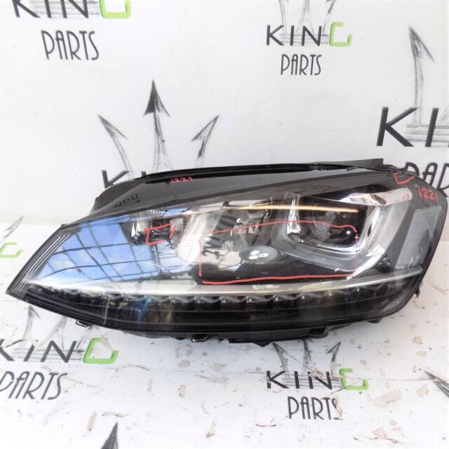 VW GOLF VII MK7 5G R 2013-2015 HEADLIGHT LED B-XENON  LEFT SIDE 5G2941751D #1221