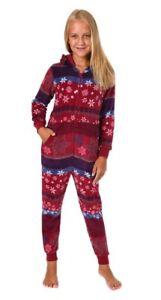 am besten auswählen am beliebtesten zarte Farben Details zu Mädchen Jumpsuit Overall Schlafanzug Onesie – Norweger Sterne  Optik