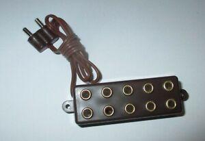 Barre-de-Distributeur-avec-Fiche-5-Connexions-2-6mm-Neuf