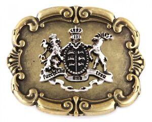 Details Zu Gürtelschnalle Schließe Wappen Baden Württemberg Messing Geschenk Geburtstag