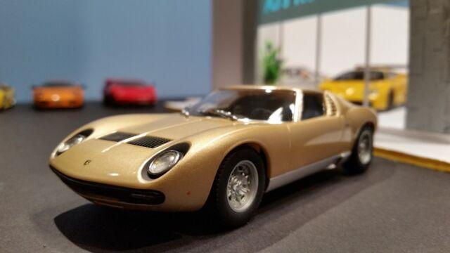 Autoart 13112 1 32 Slot Lamborghini Miura Sv Gold For Sale Online Ebay