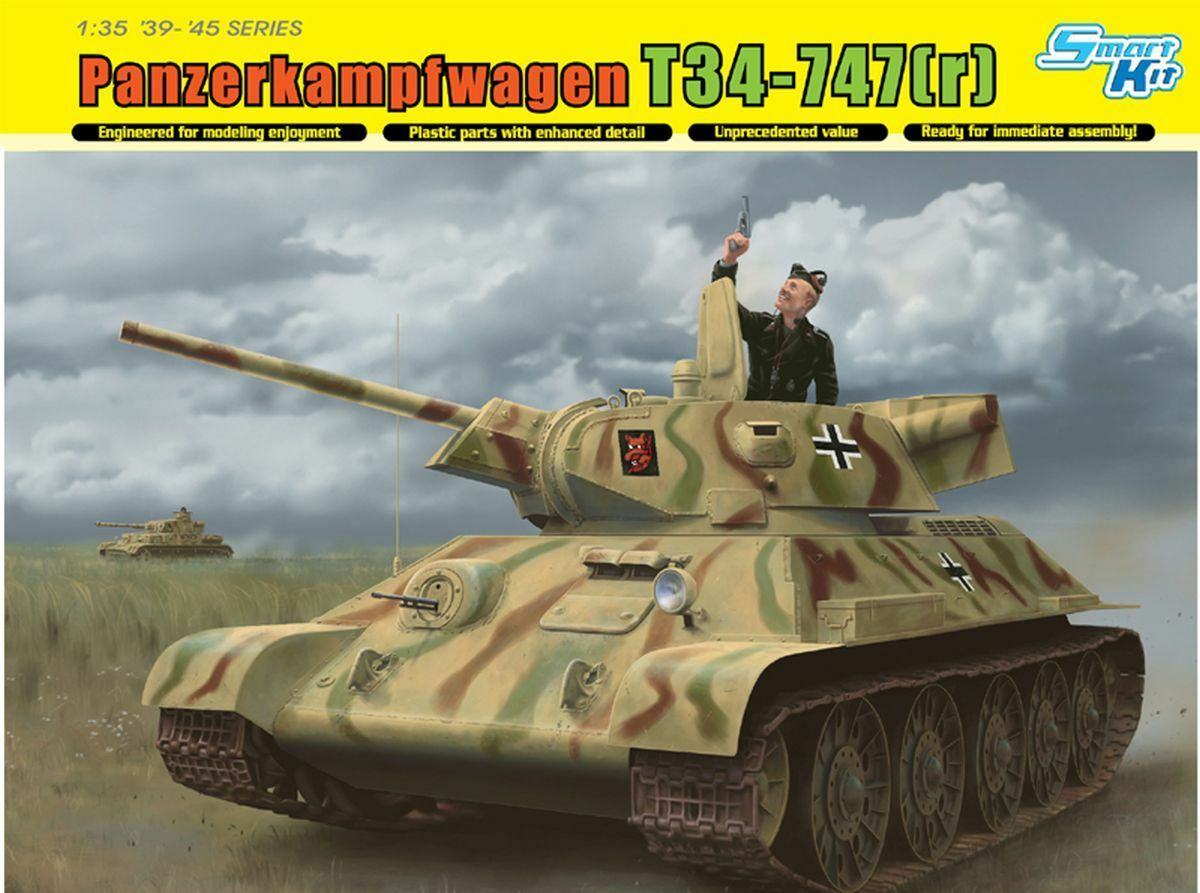 Dragon 1 35  6449 Armored Car T34-737 (R) Extraction Tank Pz.rgt. 31, 5.pz.div