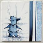 toile Graffiti originale - peinture signé - graff canvas street art tag posca