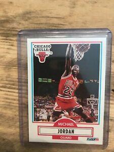 1990 Fleer Michael Jordan #26 Card,Mint
