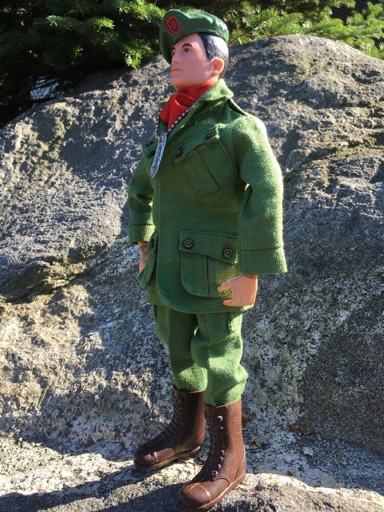 ハスブロによる1966のGIジョー;グリーンベレー軍兵士;ベトナム; 1 / 6スケール;珍しい;日本