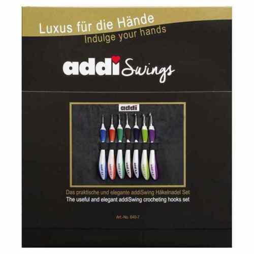Standard :Swing Crochet Hook Set: Addi