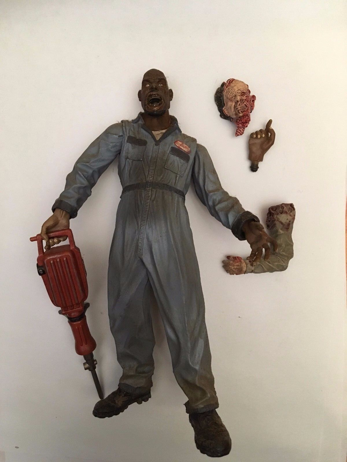 2006 SOTA TOYS 7  LAND OF THE DEAD - BIG DADDY HORROR FIGURE