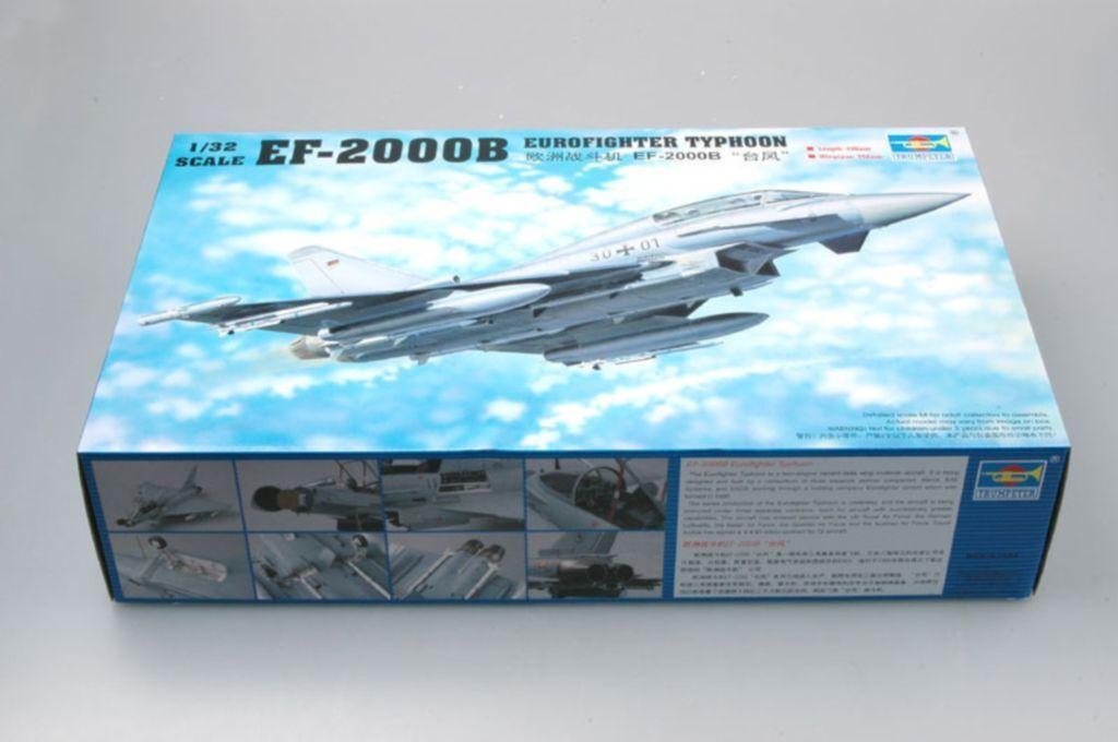 ◆ Trumpeter 1 32 02279 EF-2000B Eurofighter Typhoon model kit