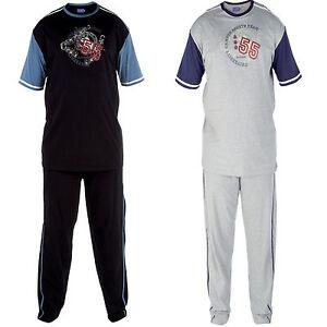 Mens-Pyjamas-Loungewear-Pj-Pajamas-duke-lounge-wear-1xl-2xl-3xl-big-sizes