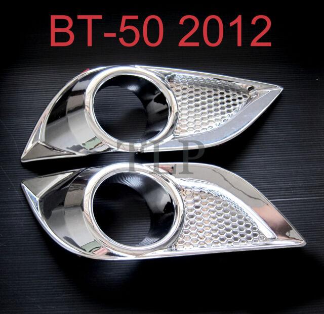 CHROME Fog Lamp Spot light cover MAZDA BT-50 BT50 2nd Gen Year 2011 2012 12 NEW