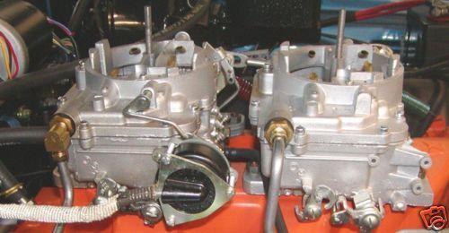 66-71 Mopar 426 Hemi Cuda Carter AFB Rear Carburetor Fuel Line Fitting