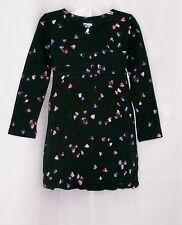 new NWT girls AMERICAN EAGLE 77 KIDS Cotton Blue Heart Bubble Dress sz 18-24 mos
