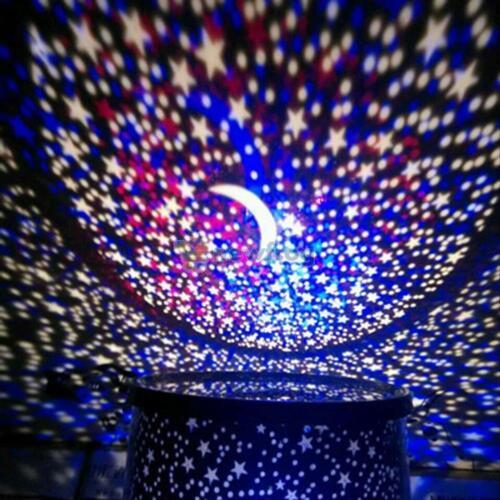 Sterne Himmel Nacht LED Projektor Projektionslampe Nachtlampe Nachtlicht Toys