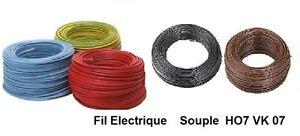 Fil-electrique-souple-HO7-VK-6-mm-2-metres-5-Couleurs-differentes