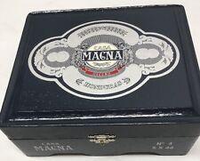Vintage Casa Magna Robustos Cigar Box Honduras Unique Empty Box Navy Blue