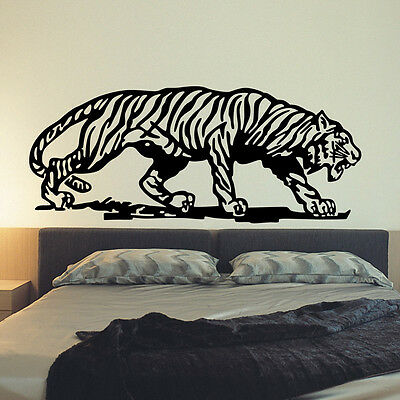 The Tiger Animal Wall Sticker Decal Vinyl Wall Art Mural  Living Room Decors