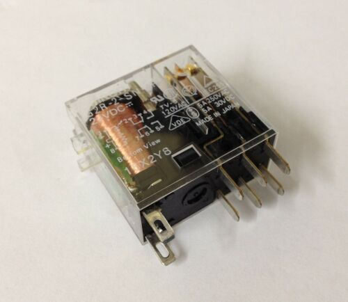 x1 NEW Omron G2R-2-SN-AP3 24VDC Relay G2R-2-SN-AP3//DC24