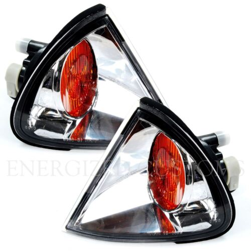 TOYOTA AVENSIS 2000-2003 FRONT INDICATORS CRYSTAL CLEAR 1 PAIR O//S /& N//S
