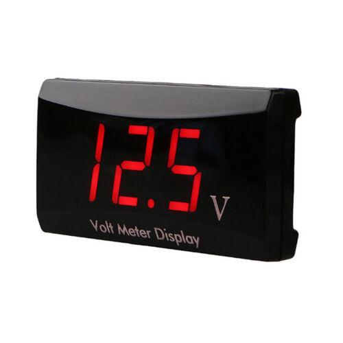 12 V Led Digitalanzeige Voltmeter Spannungsanzeige Panel Meter Für Auto Mot  Fw
