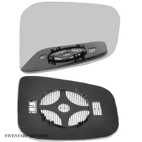 Right Driver side wing mirror glass for Mitsubishi Shogun Pinin 99-07 Heated