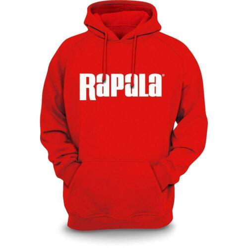XL //Red Rapala Men/'s Heavy PO Hooded Sweatshirt Hoodie RSH05XL
