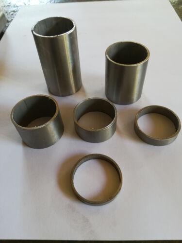 rundrohr rostfreier edelstahl V2A D=42,4*2mm  L= 10-1000mm  geschliffen K 240