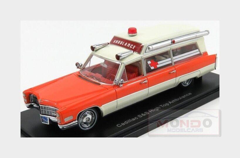 Cadillac S&S High Top Ambulance Ambulanza 1966 NEOSCALE 1 43 NEO49539 Model