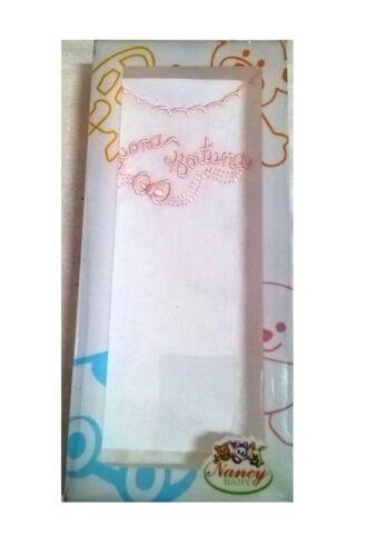 CAMICINA DELLA FORTUNA IN COTONE SENZA MANICHE NANCY BABY ART.14 colori a scelta