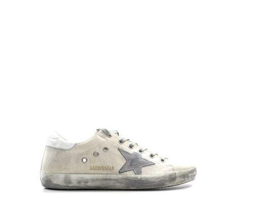 Shuhe GOLDEN GOOSE Frau Sneakers Trendy BIANCO Naturleder,Stoff G33WS590-H53