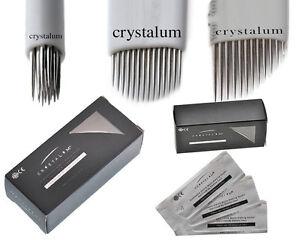 microblading eyebrow blades shading needles tattoo curved manual spmu makeup ebay. Black Bedroom Furniture Sets. Home Design Ideas