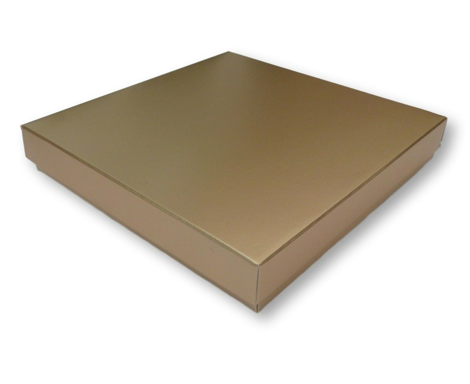 200 SATIN Gold 6X6 INCH BOXES. GREETING CARD, GIFTS, LINGERIE, JEWELLERY