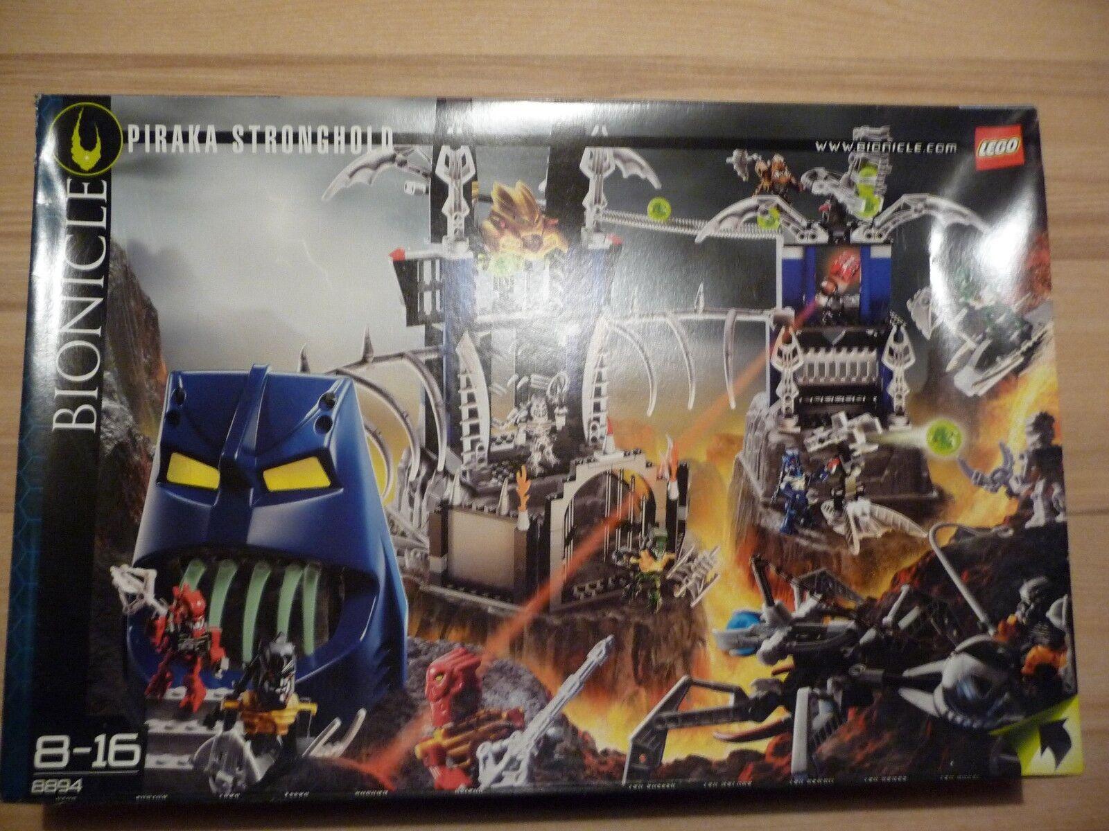 LEGO® BIONICLE Piraka Stronghold 8894 - NEU OVP geöffnet