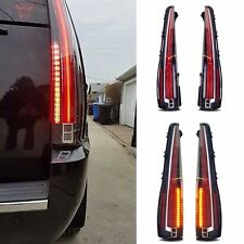 LED Tail Lights For 2007-2014 Cadillac Escalade Rear Lamp 2016 Model Assembly