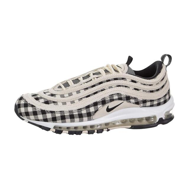 in stock cheapest price release date: Nike Air Max 97 Premium Flannel Mens 312834-201 Cream Running Shoes Size  10.5