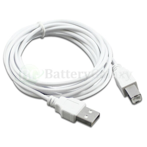 Lot 6/' 10/' 15/' For HP CANON DELL BROTHER PRINTER SCANNER CABLE CORD USB 2.0 A-B