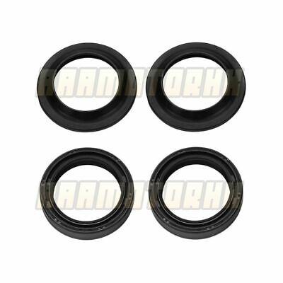 Fork Oil Seal /& Dust Seal Kit For Honda CBR400 NC23  new seal x4 #128