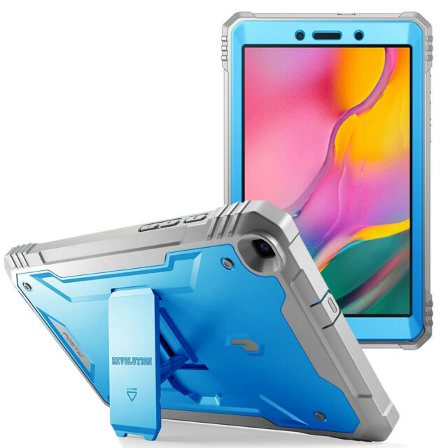 Poetic For Galaxy Tab A 8.0 2019 Tablet Case,Full Coverage w/stand Cover Blue